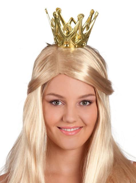 Coroa de princesa do reino para mulher