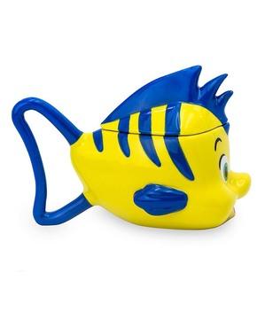 3D hrnek Flounder - Malá mořská víla