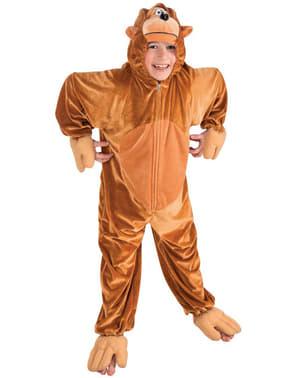 Costume da scimmia di peluche per bambino