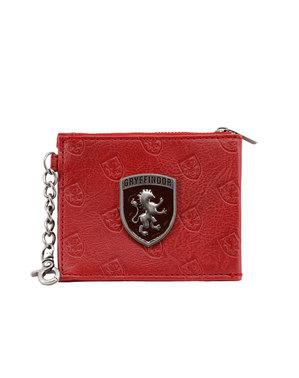 Porta-moedas Porta-cartões Harry Potter Gryffindor - Harry Potter Emblem Collection