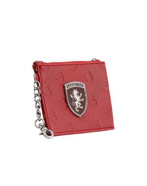 Black Harry Potter Gryffindor Card Holder Purse - Harry Potter Emblem Collection