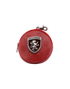 Harry Potter Griffoendor Zwarte Ronde Portemonnee - Harry Potter Emblem Collection