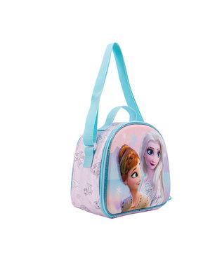 Geantă de prânz Frozen 3D cu Elsa și Anna - Frozen
