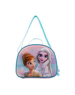 Sac à goûter La Reine des neiges 3D Elsa et Anna - La Reine des neiges