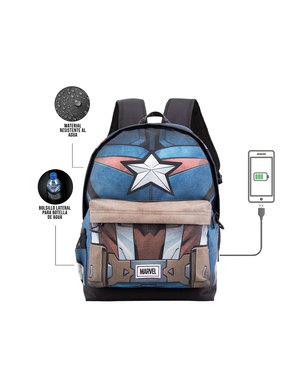 Mochila de Capitán America cuerpo