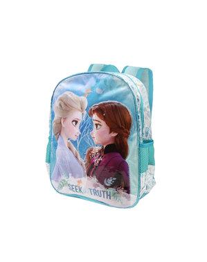 Mochila Frozen 2 turquesa para menina - Frozen 2