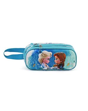 Estojo Frozen 2 turquesa para menina - Frozen 2
