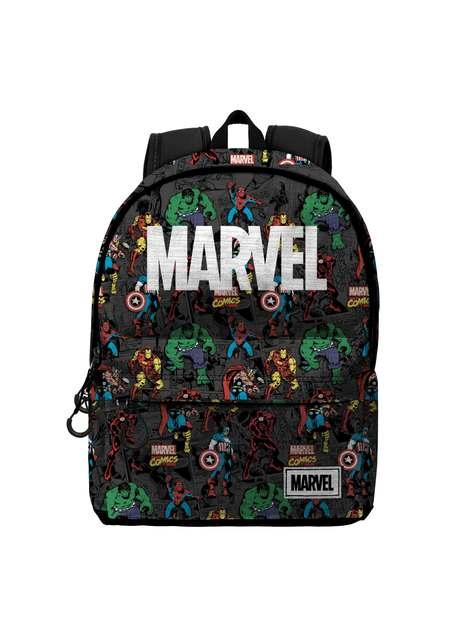 Mochila Marvel Logo con personajes
