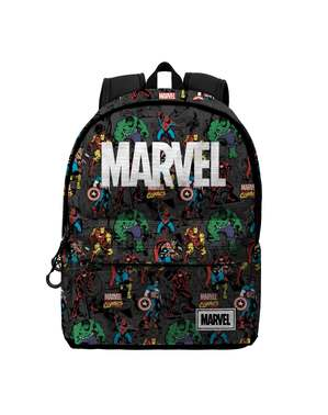 Marvel Logo Backpack with Characters