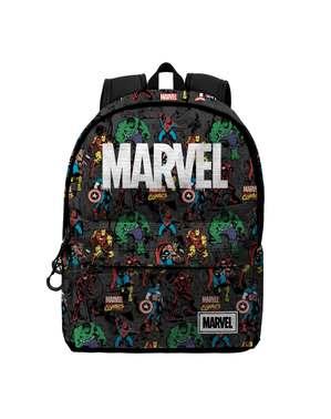 Ryggsäck Marvel logga med karaktärer