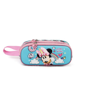 Minnie Mouse Pencil Case with Unicorns