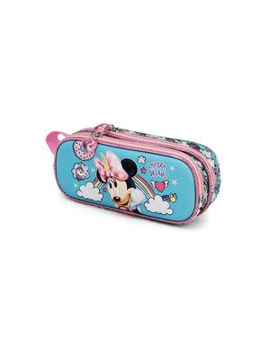 Estojo Minnie Mouse com unicórnios