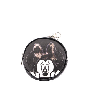 Porte-monnaie rond Minnie Mouse femme