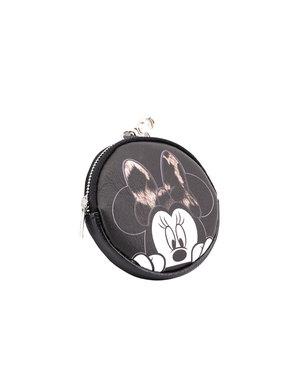Myntbörs rund Minnie Mouse för henne