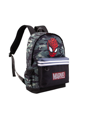 Spiderman Kamuflasje Skolesekk - Marvel
