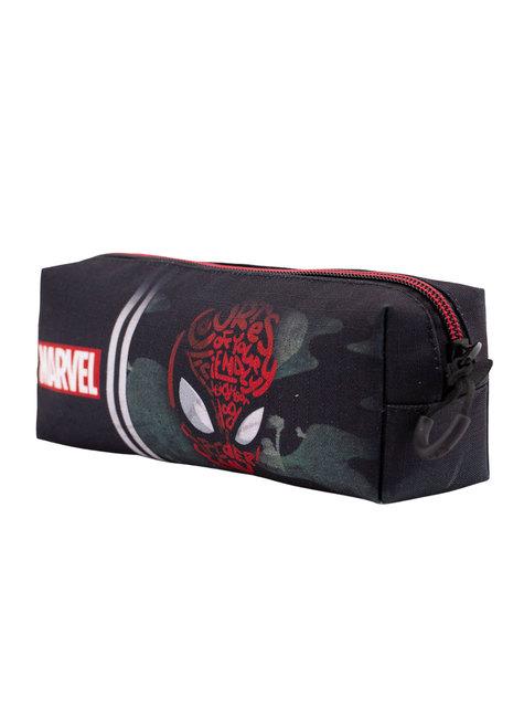 Estuche Spiderman camuflaje - Marvel