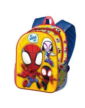 Mochila Homem-Aranha para menino - Spider-Man and His Amazing Friends