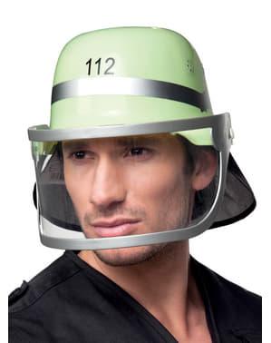 Helm reddende brandweerman voor volwassenen