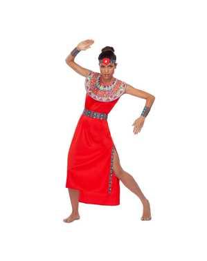 Masai kostuum voor vrouwen