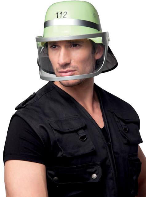 Casco de bombero al rescate para adulto - para tu disfraz