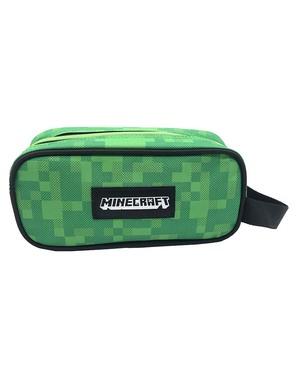 Estojo quadrado Minecraft verde