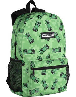 Zelený batoh Minecraft American