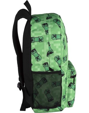 Minecraft Green American Backpack