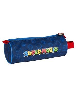 Super Mario und Luigi Federmappe rund