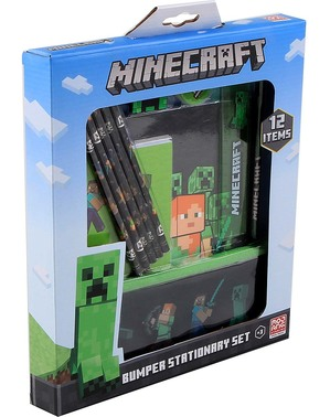 Set de papelería Minecraft