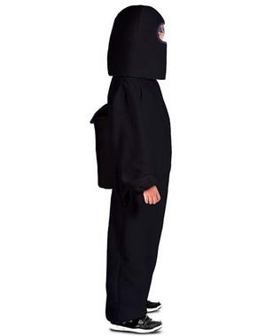 Czarny strój Among Us Impostor dla chłopców