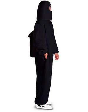 Czarny strój Among Us Impostor
