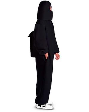 Disfraz de Among Us Impostor negro