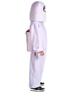 Biały strój Among Us Impostor dla chłopców