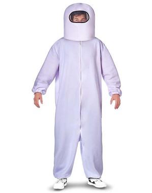 Disfraz de Among Us Impostor blanco