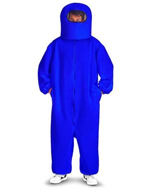 Disfraz de Among Us Impostor azul