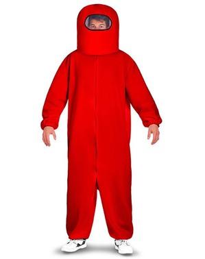 Czerwony strój Among Us Impostor
