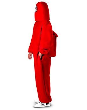 Disfraz de Among Us Impostor rojo