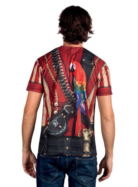 Camiseta de fotorrealista pirata para hombre - hombre