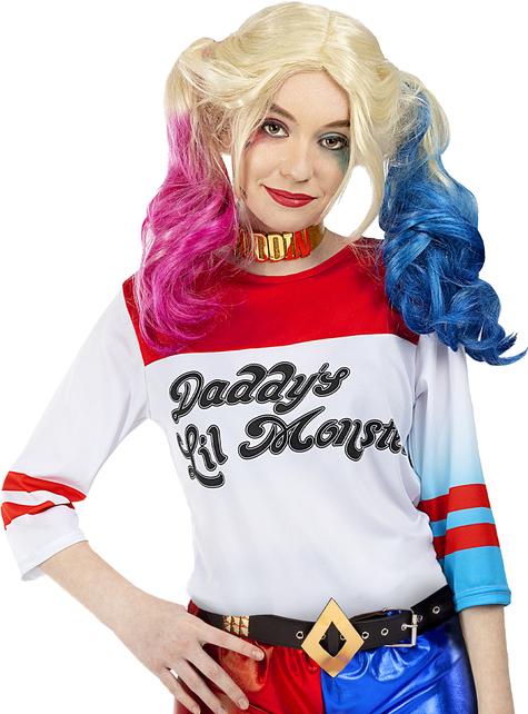 Grote maat Harley Quinn kostuum - Suicide Squad