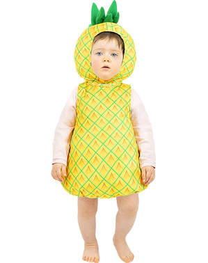 Costum de ananas pentru bebeluși