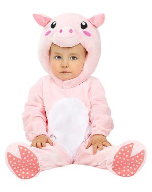 Fato de Porco para bebé
