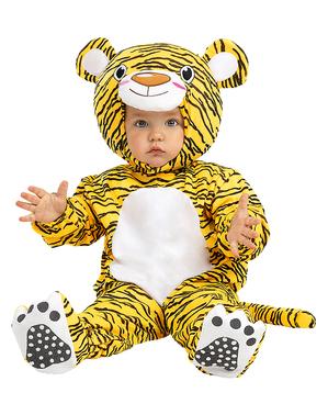 Costum de tigru iubitor de bebeluș