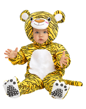 Cute Tiger Costume for Babies