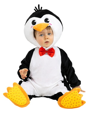 Pingvin jelmez csecsemőknek