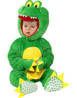 Бебешки костюм на крокодил