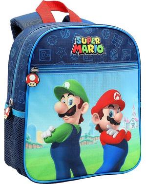 Mochila pequena Super Mario e Luigi para menino