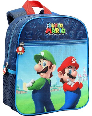 Super Mario and Luigi Small Backpack for Kids