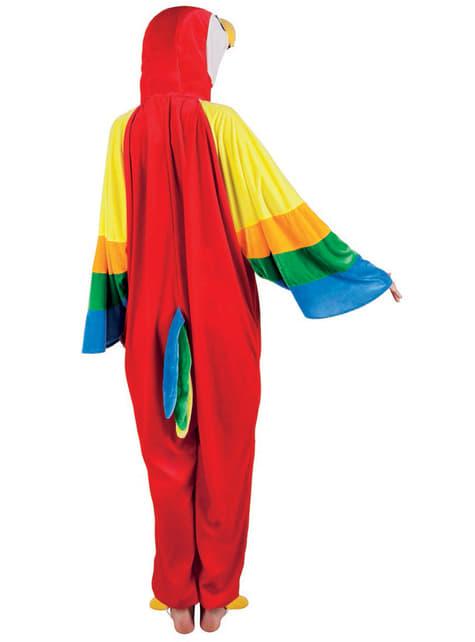 Disfraz de loro de peluche para niño - infantil