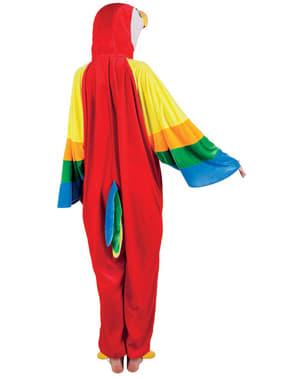 Costume da pappagallo di peluche per bambino