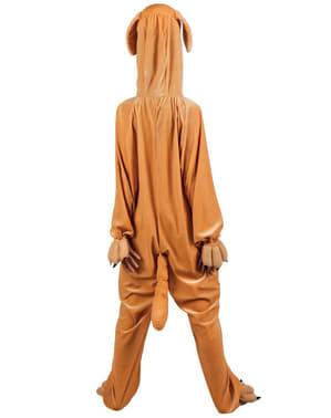 Disfraz de perro de peluche para niño
